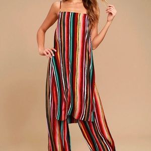 NWT Free People Ruby Stripe Set